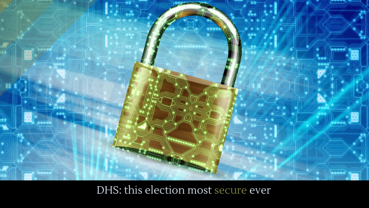 DHS: this election most secure ever
