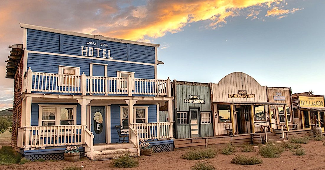 Buy an Old West frontier town, only $1.6 million
