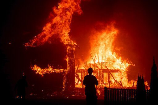 How California wildfires became ripe areas for right-wing conspiracy theories