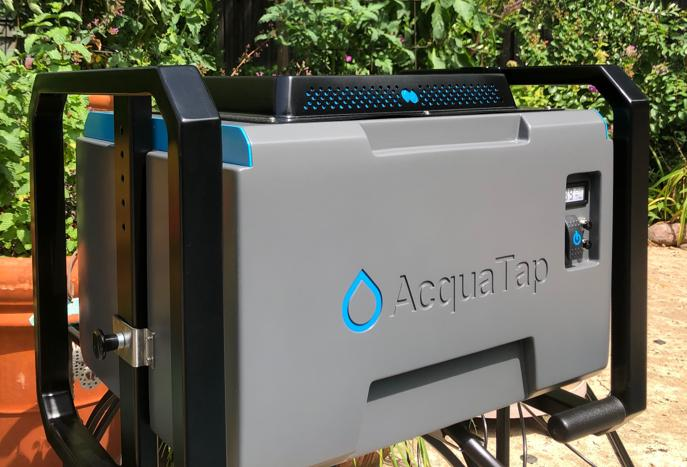 Boondockers' dream: Portable device makes water from air!