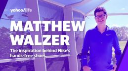 Meet Matthew Walzer: The man who inspired Nike's hands-free sneakers