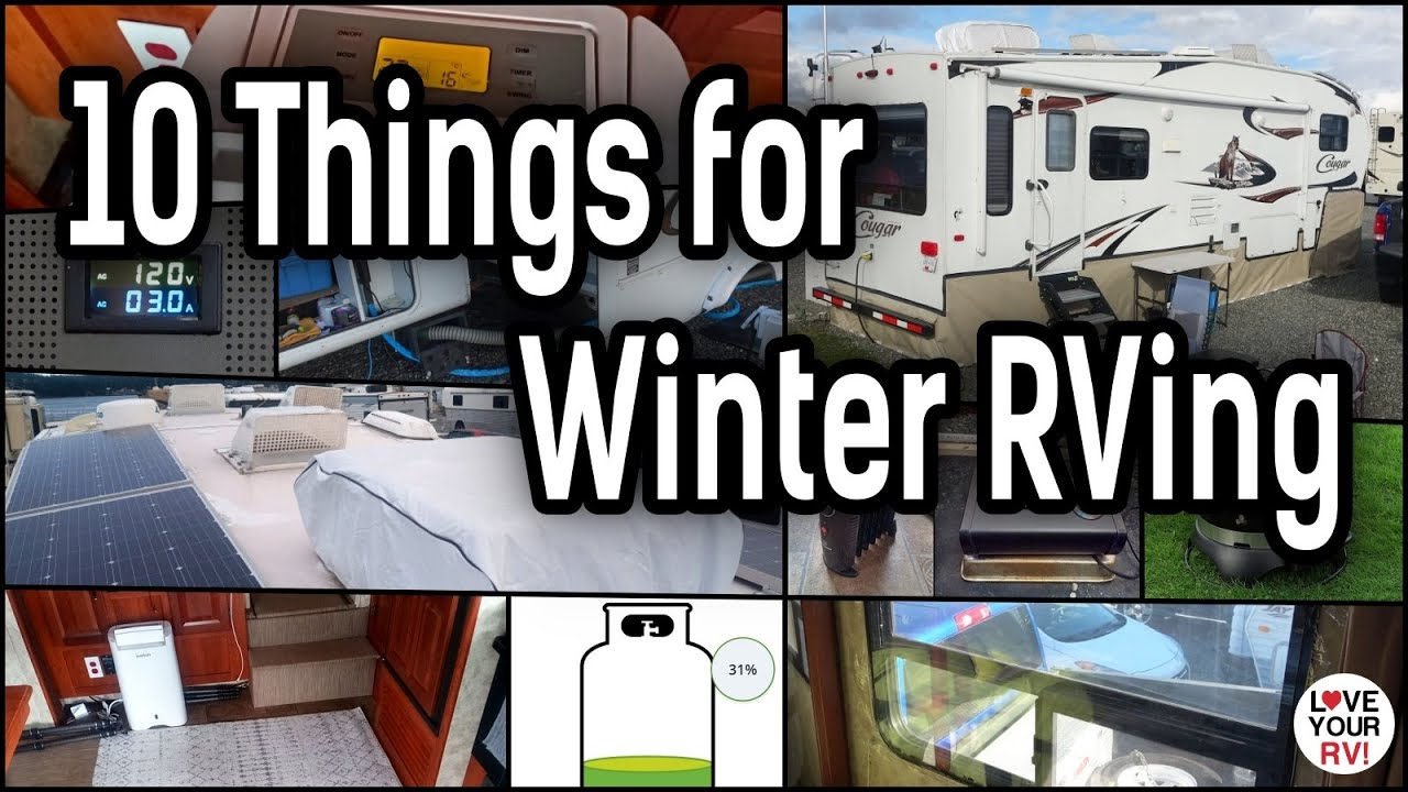 10 Things that Help Us Winter in Our RV – Reviews & Updates