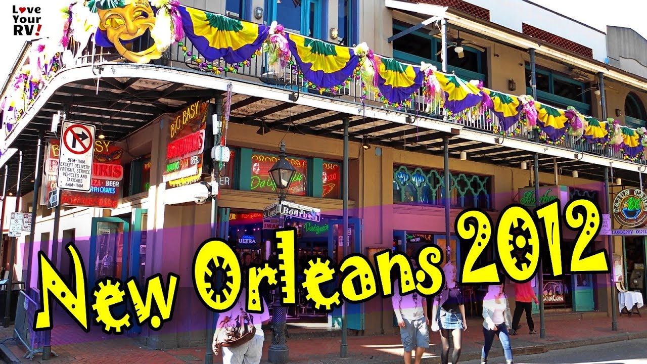 Our Visit to New Orleans, Louisiana back in February 2012 - LYRV Throwback Video Series