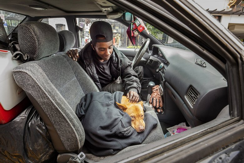 The COVID pandemic split the King County homeless system in two. A year later, the differences remain stark