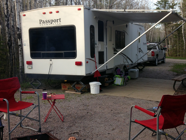 Province Says Your Campsite is A Temporary Residence