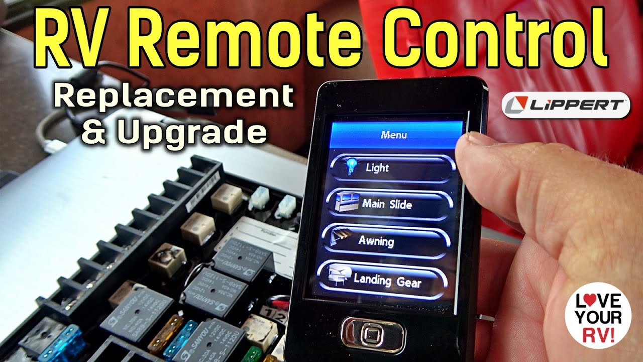 RV Wireless Remote Control Module Replacement & Upgrade to Lippert Linc System