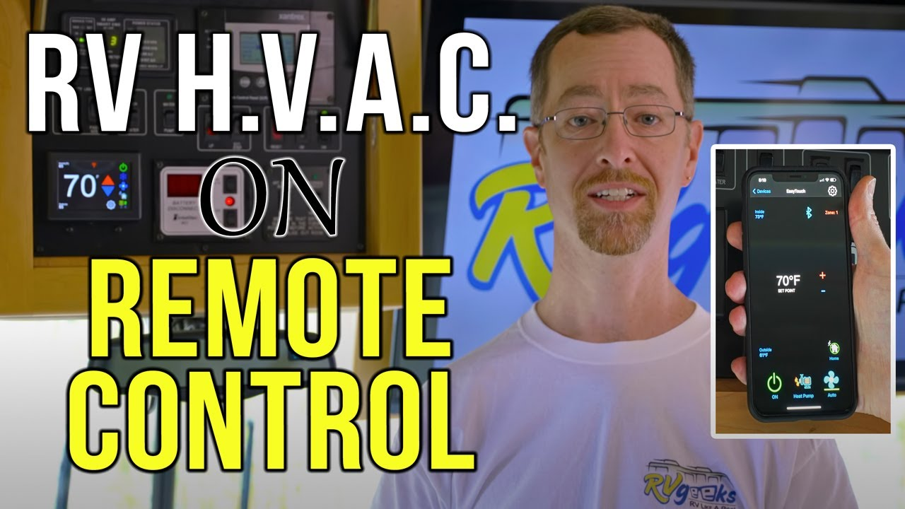 Micro Air EasyTouch RV Thermostat — RV AC Remote Control!