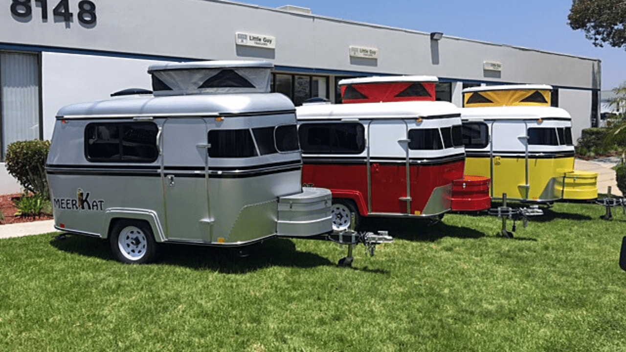 This Tiny Camper Fits in a Garage (And You Can Stand Inside It)