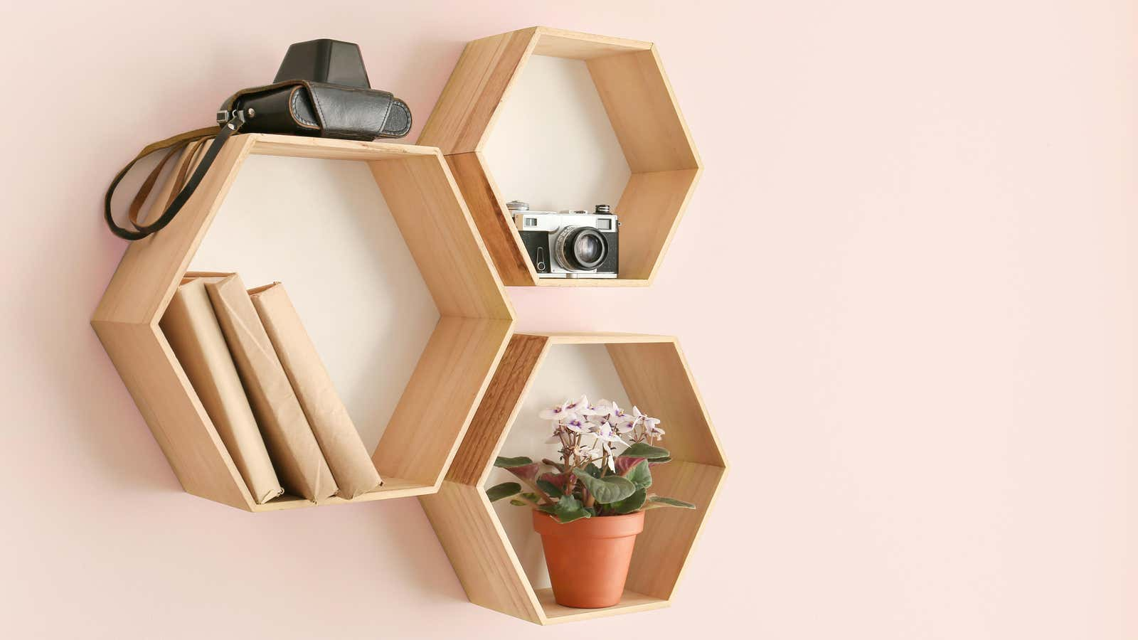 How to Build Your Own Stylish Hexagon Shelf