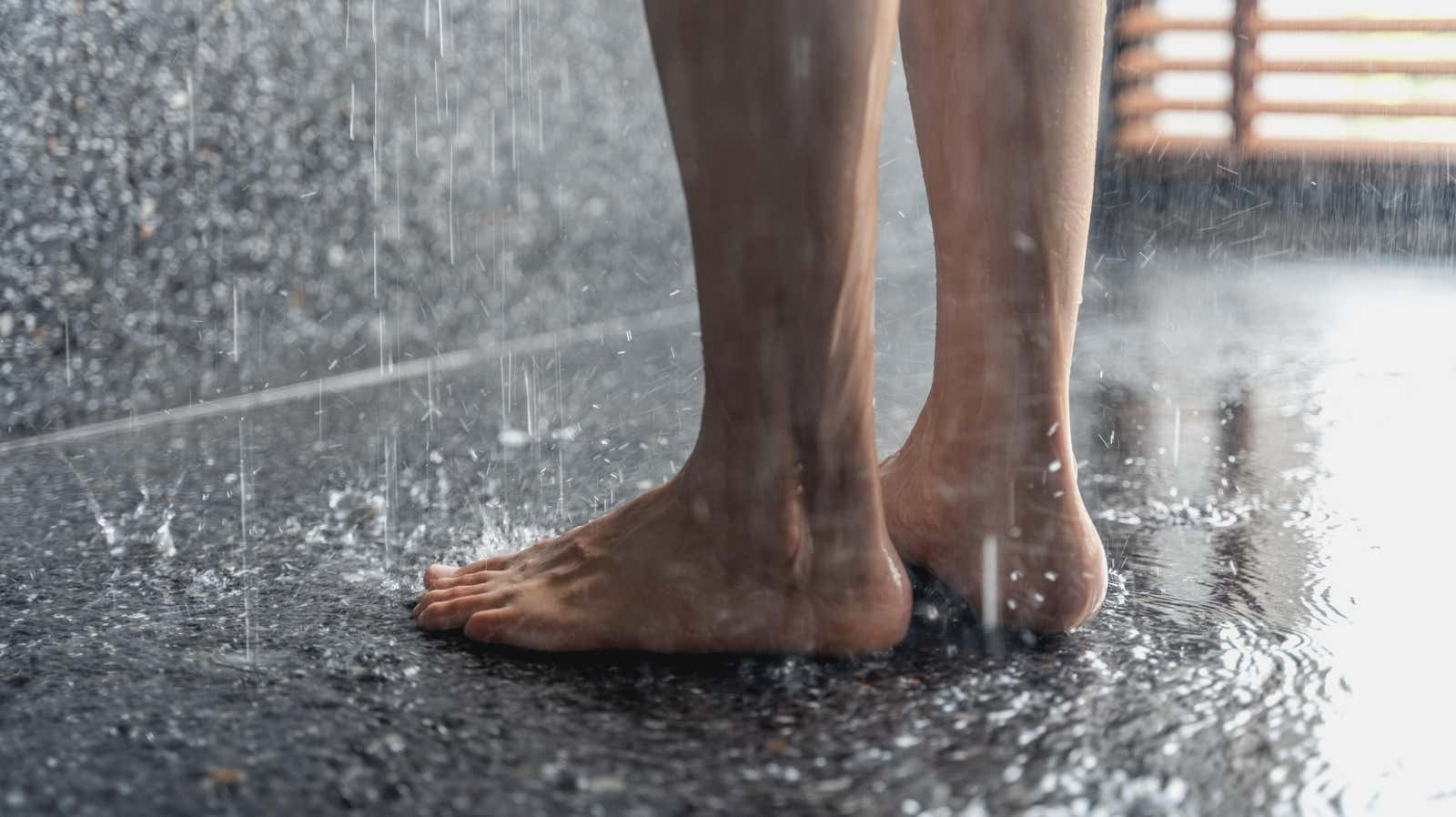 No, Your Feet Don't Clean Themselves in the Shower