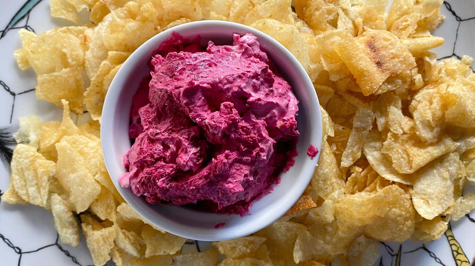 Make This 3-Ingredient Dip With Charred Beets