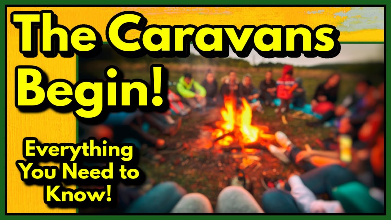 Great news for Nomads! Announcing the Start of the In Person Caravans!! Everything You Need To Know!